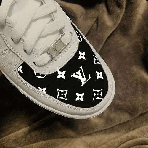 Opplain Custom Sneakers - Black LV 2