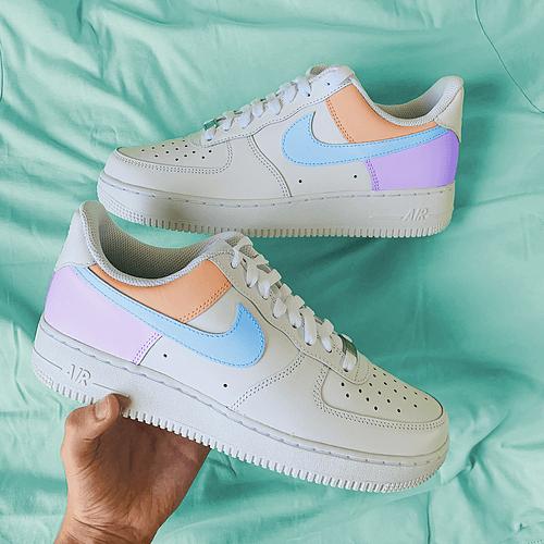 Opplain Custom Sneakers - Blocks Color
