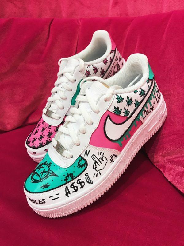 Opplain Custom Sneakers - Caramelle Dolci