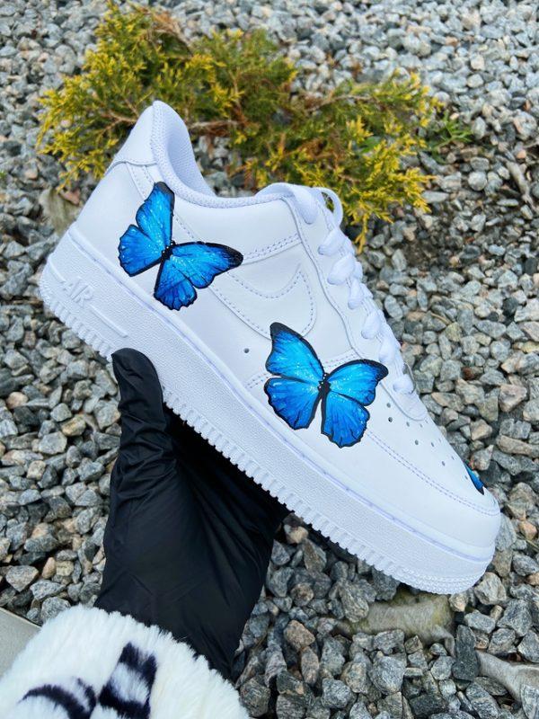 nike air force 1 con farfalle