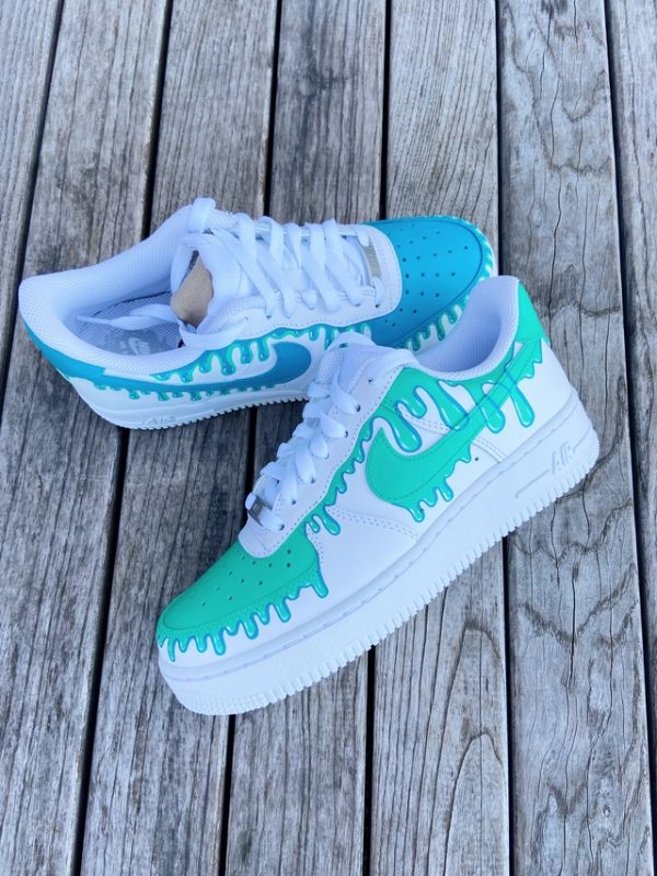 Opplain Custom Sneakers - Gocce dacqua