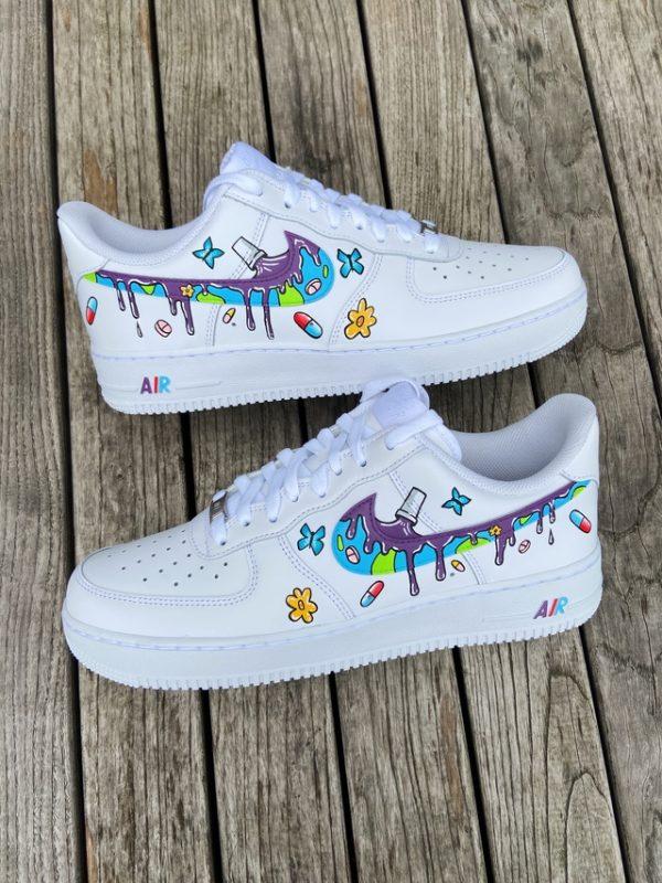 Opplain Custom Sneakers - Lin drips