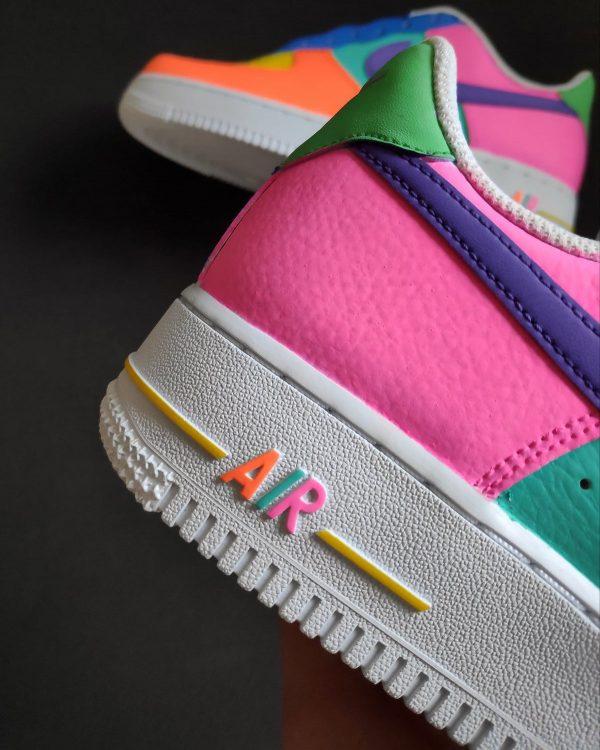 Opplain Custom Sneakers - Neon2