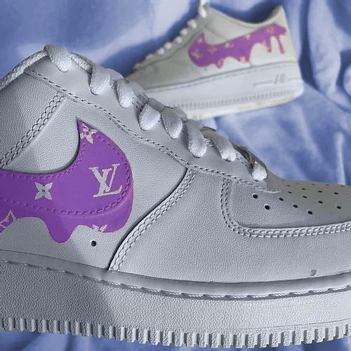 Opplain Custom Sneakers - Pastel Drip LV 3