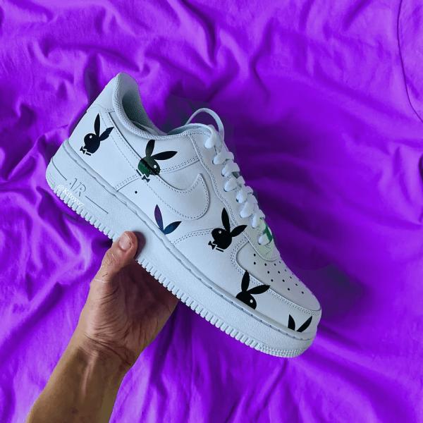 Opplain Custom Sneakers - Reflective Bunnies 2