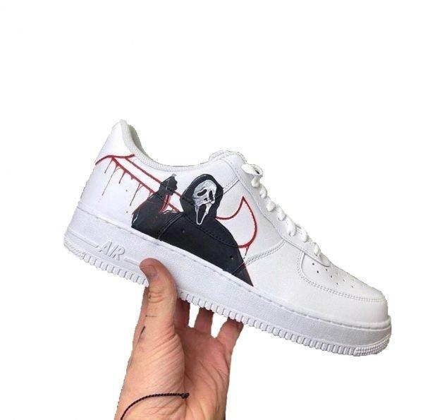 Opplain Custom Sneakers - Scream