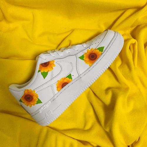 Opplain Custom Sneakers - Sunflowers 2